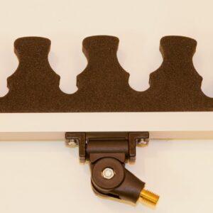 FIX2 Polesupport 43 cm Ledad & Vinklingsbar